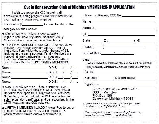 motorcycle club application