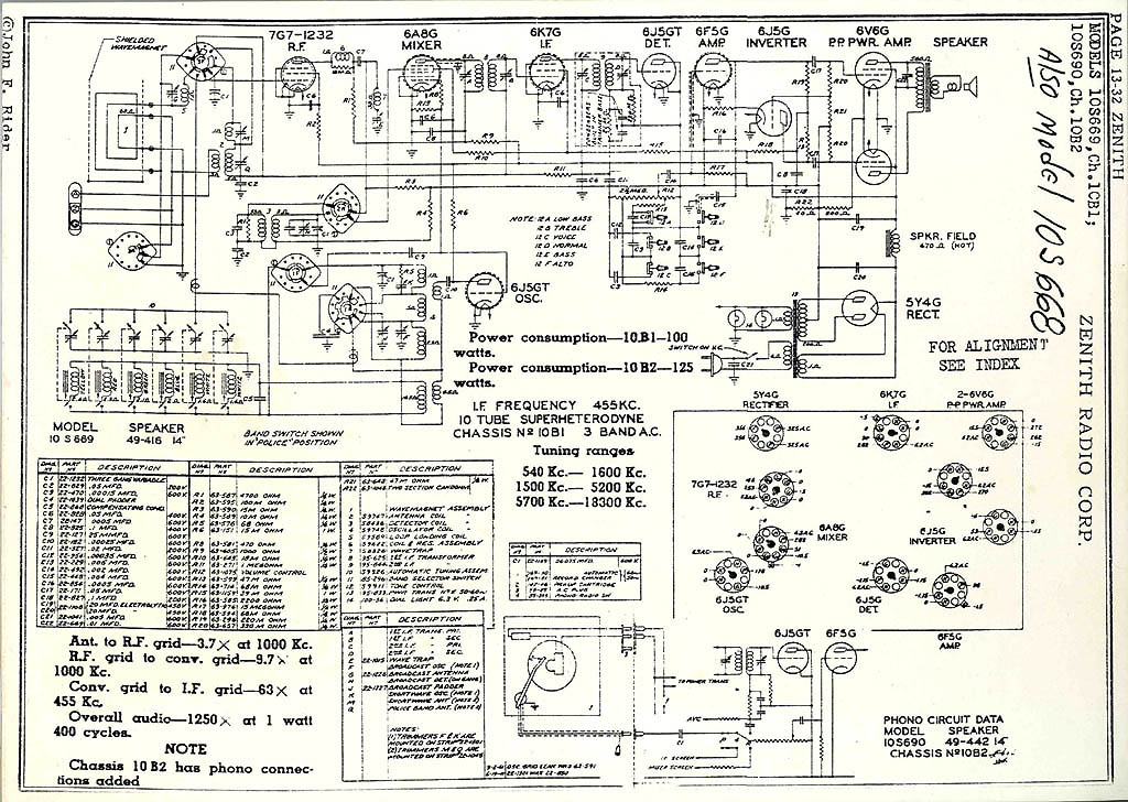 restoring maintaining and listening to vintage radios by lynn conway rh ai eecs umich edu GM Radio Wiring Diagram Ford Radio Wiring Diagram