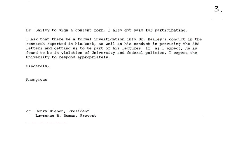 Formal complaint about j michael baileys sexual exploitation of a response letter to anjelica kietlyka from ovpr at nu on 11 12 03 regarding her formal complaint ref in 5 spiritdancerdesigns Gallery